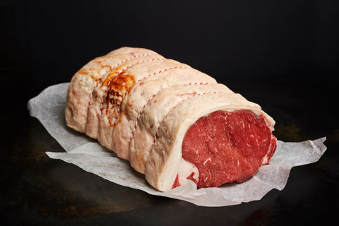 Dry Aged Welsh Black Rolled Sirloin - Bromfields-Butchers