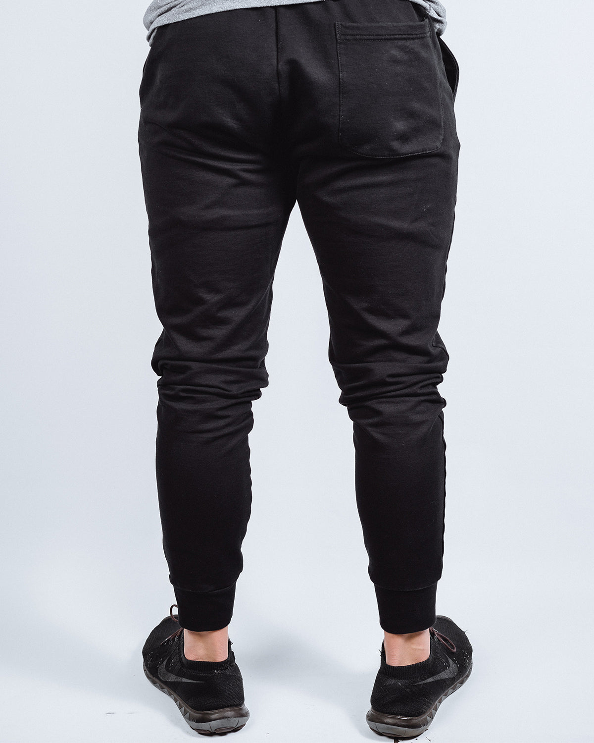 Noir Tapered Joggers