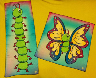 Butterfly & Caterpillar Silks