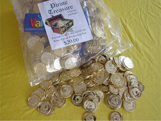 Gold Coins (PLASTIC)