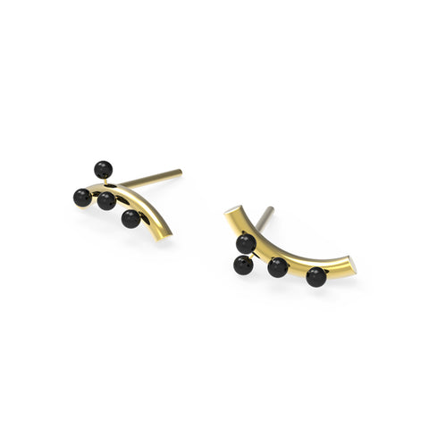 Ant earrings by Ana João Jewelry at by PT online Store brincos formiga, handmade, Portuguese jewelry
