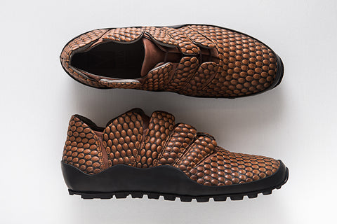 Picture of Horus Camel unisex shoes by Marita Moreno. Shop online at by-PT.com