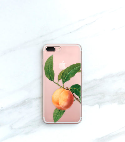 Peach iPhone 7 Plus case