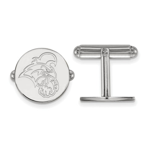 Sterling Silver LogoArt Coastal Carolina University Cuff Link