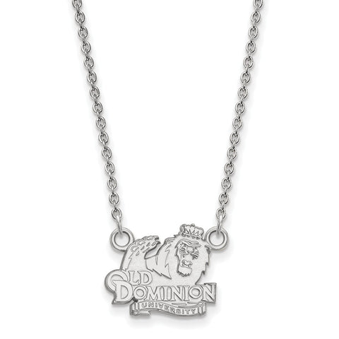10kw LogoArt Old Dominion University Small Pendant w/Necklace