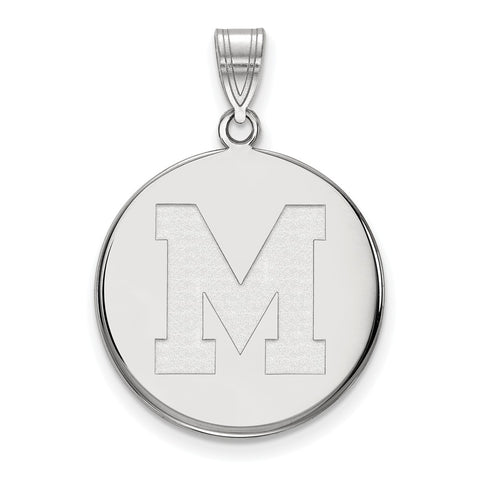 10kw LogoArt University of Memphis Large Disc Pendant