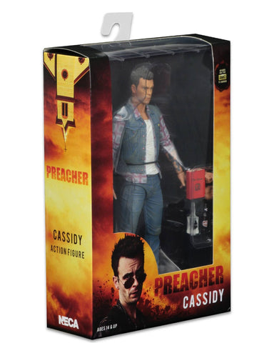 "NECA Preacher Scale Series 1 Cassidy Action Figure, 7"" - Collectors Row Inc."