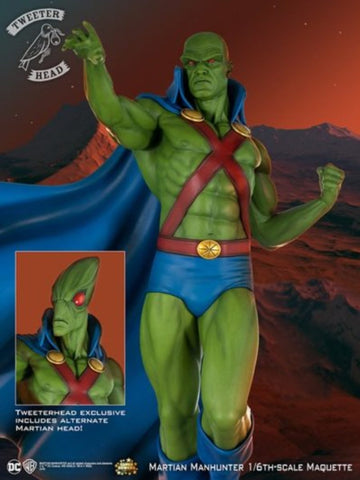 Martian Manhunter Exclusive Super Powers Maquette DC Statue by Tweeterhead - Collectors Row Inc.