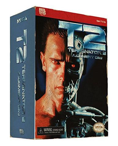 Terminator 2: T-800 (Video Game Appearance) Action Figure by NECA - Collectors Row Inc.