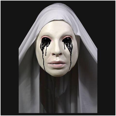 American Horror Story Asylum Nun Mask Officially Licensed by Trick or Treat Studios - Collectors Row Inc.