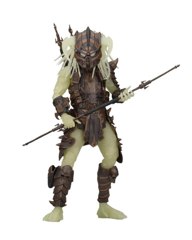 "NECA Predator Scale Series 16 Stalker Glow in The Dark Action Figure, 7"" - Collectors Row Inc."