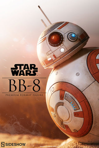 BB-8 Droid Star Wars The Force Awakens Premium Format Statue by Sideshow Collectibles - Collectors Row Inc.