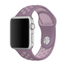 Purple / Pink Perforated Sport Band compatible for Apple Watch / Apple Watch Sport ( 38mm / 40mm  , 42mm / 44mm )