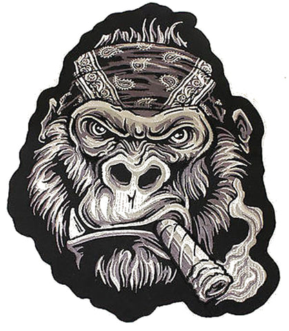 Lethal Threat Bandana Gorilla LARGE sew on patch