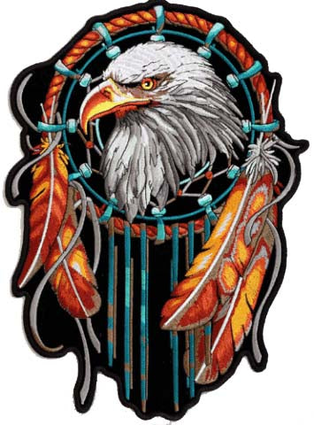 Stunning Eagle Dreamcatcher Patch
