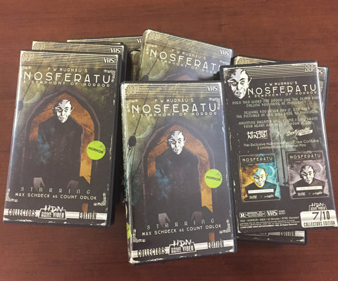 Nosferatu Pin 2-Pack in VHS Clamshell
