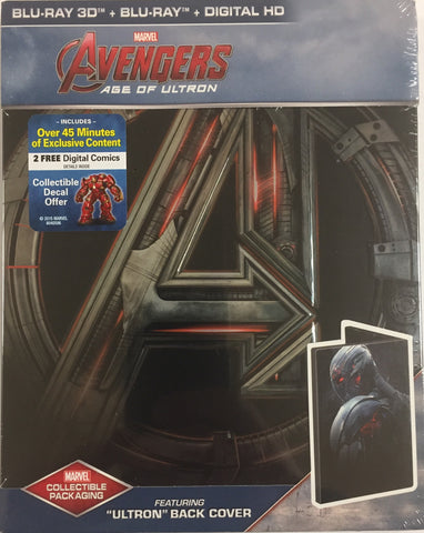 Avengers Age of Ultron - (Blu-ray SteelBook) [Region Free]