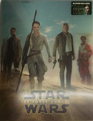 Star Wars The Force Awakens Lenti Blufans SteelBook