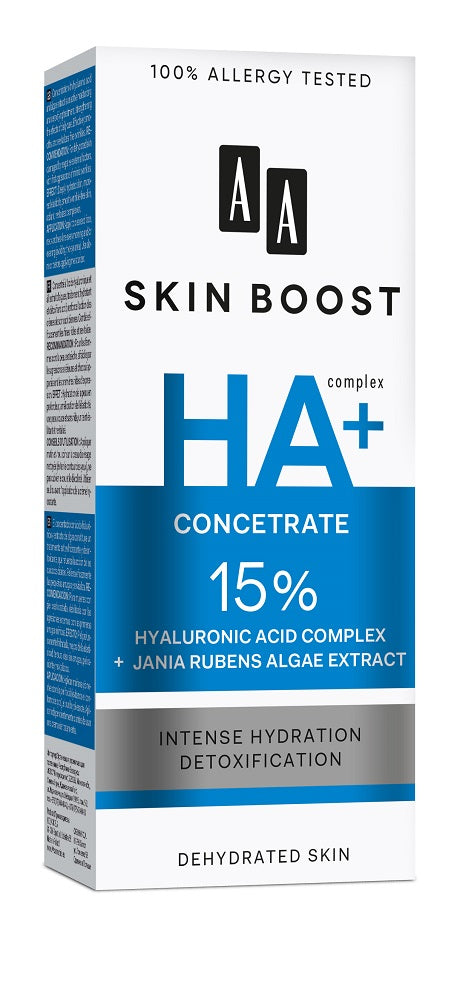 AA Skin Boost With Hyaluronic Acid 15% concentrate - 30 ml