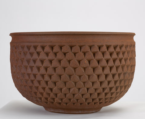 Earthgender Diamond Pointer Bowl Planter by David Cressey & Robert Maxwell