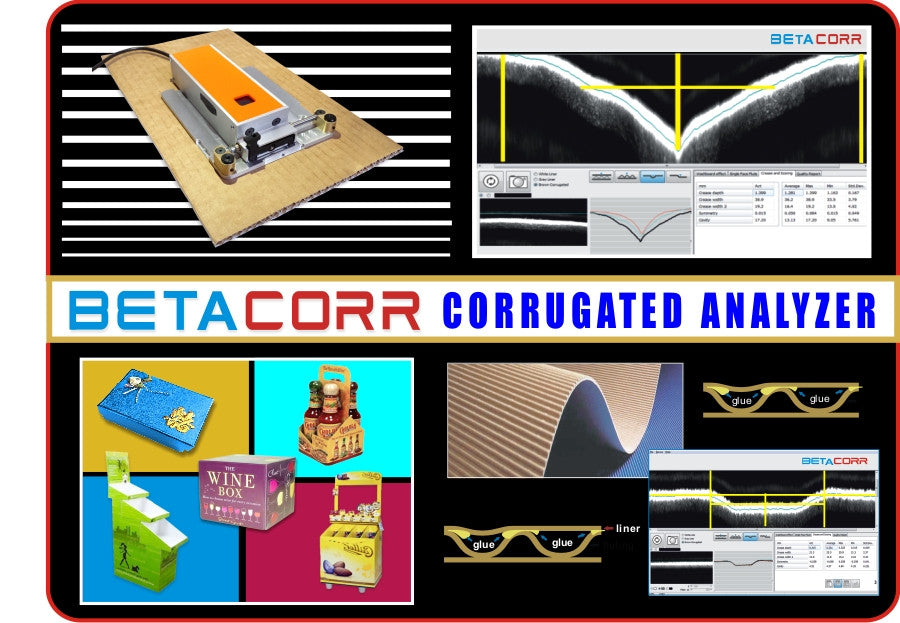 BetaCorr Corrugated Analyzer - Control The Process for Better Printing