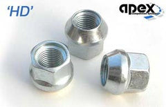 M12x1.5 - HD Conical, Steel Nuts
