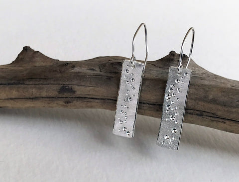 Star Dust Earrings - Traditional Length - Mettle by Abby