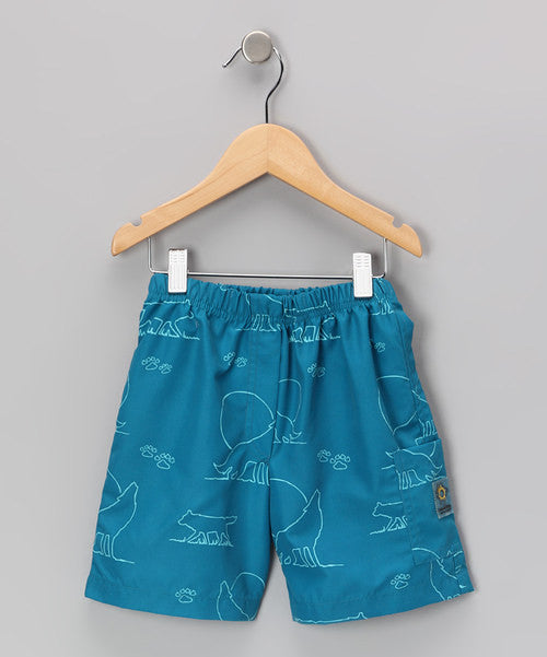Blue Wolf Quick Dry Short