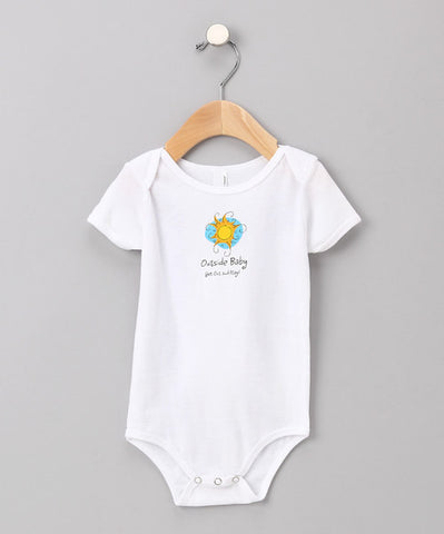 Outside Baby Onesie