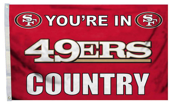 San Francisco 49ers Flag 3x5 Country (CDG)