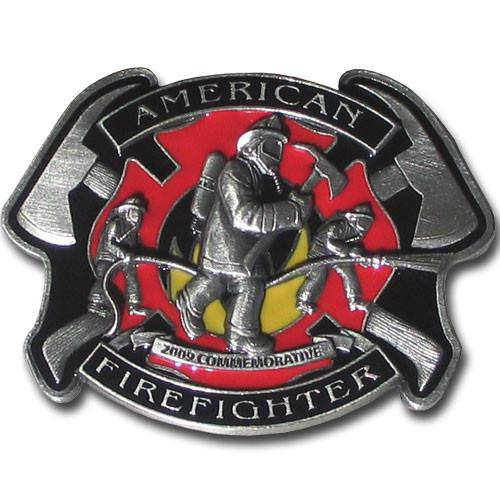 American Fire Fighter 2009 Limited Edition Enameled Buckle (SSKG)
