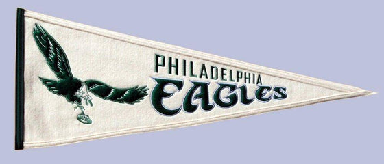 "Philadelphia Eagles 32"" Wool Embroidered Throwback Pennant"