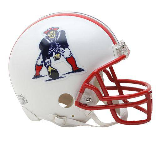New England Patriots NFL Throwback 1990-1992 Mini Helmet