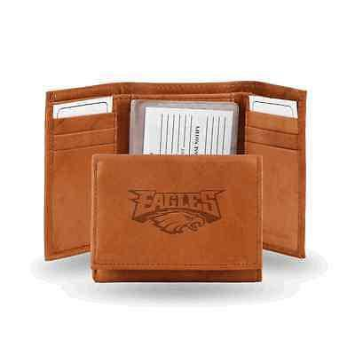 NFL Philadelphia Eagles Embossed Genuine Cowhide Leather Trifold Leather wallet w/ gift tin