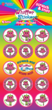 Strawberry Twirl Sticker Pack