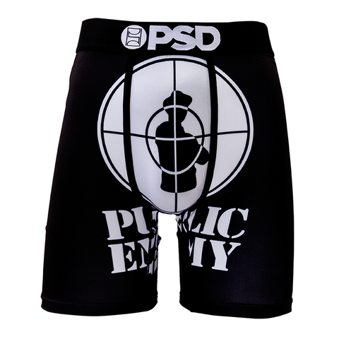 PSD Underwear Men's Public Enemy Boxer Brief - Musink