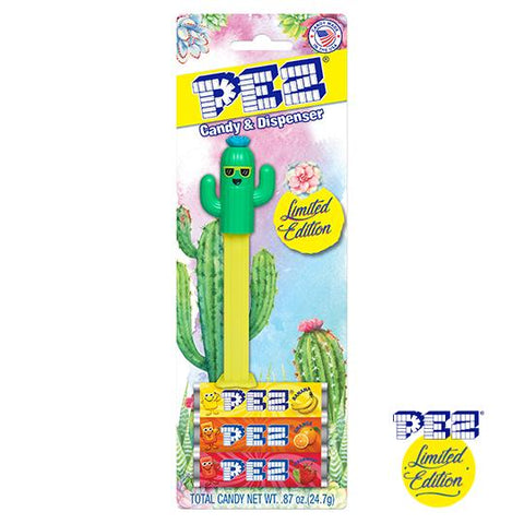 *LIMITED EDITION* PEZ® Blister Pack - Cool Cactus (Boy)
