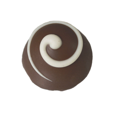 Large Milk Cinnamon Bun Truffle