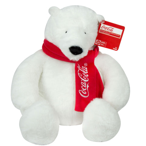 "Coca-Cola® 12"" Plush Scarf Bear"