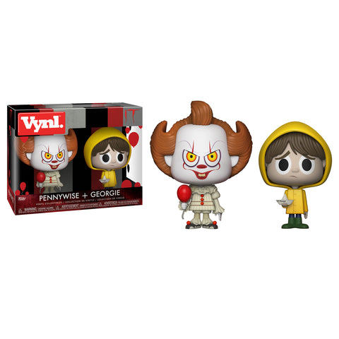 Funko Vynl: IT - Pennywise + Georgie