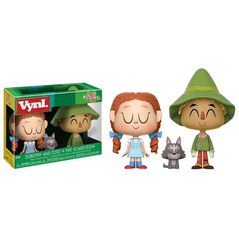 Funko Vynl: The Wizard of Oz - Dorothy and Toto +The Scarecrow