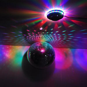 48 LED RGB Disco Club Stage Party Light Voice Activated