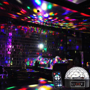 Disco Stage DMX KTV LED Crystal Magic Ball