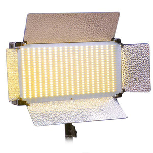 500 Studio LED Light Panel Ultra Bright Dimmer Bi-Color