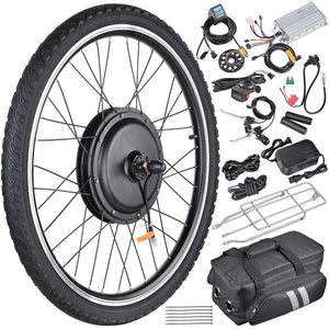 26in Front Hub Electric Bicycle Motor Conversion Kit 36v 800w