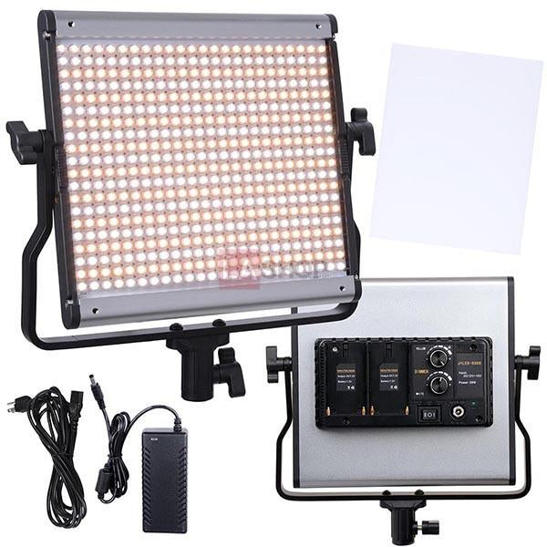 480 Photography Studio Dimmable LED Light Panel w/ Bag