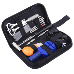 Pro 13-Piece Watches Repair Kit Opener Hand Remover w/ Bag