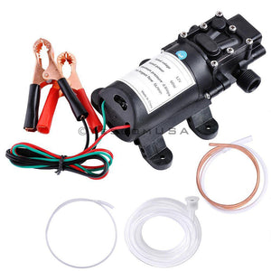 5L 12V Oil Fluid Diesel Fuel Extractor Transfer Pump Scavenge Suction