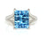 Ocean Blue Topaz Ring
