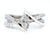 ambrosia custom engagement ring marquise multi-row modern wedding ring